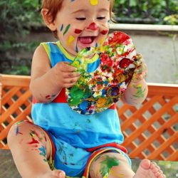 Child friendly paint